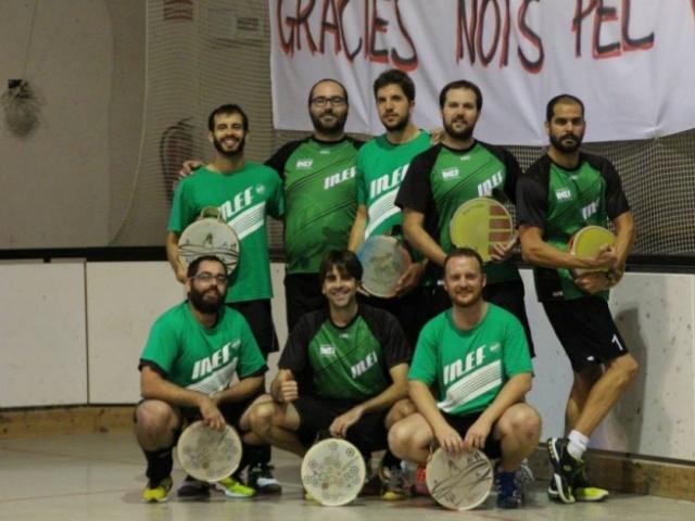 Galeria 1a. Jornada Lliga Catalana de Tamborí Masculí 2014-2015 a Folgueroles