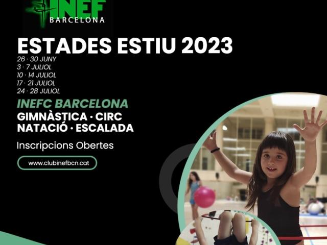 Estades Esportives d'Estiu a INEF Barcelona