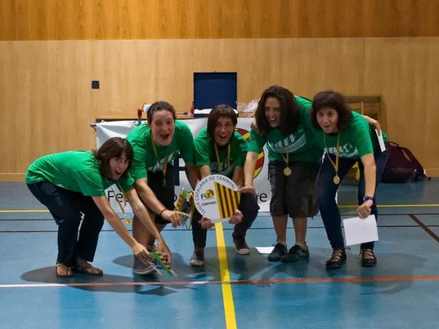 Galeria 10a. Jornada Lliga Catalana de Tamborí Masculí i Femení 2014-2015 a Roda de Ter