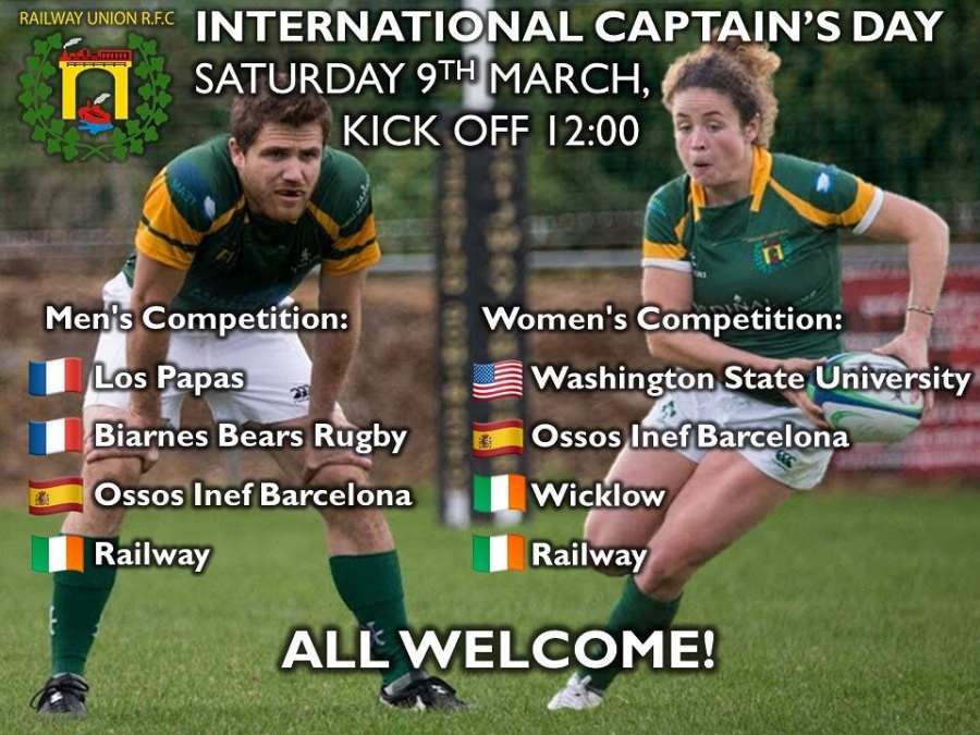 INEF Barcelona participarà a l'International Captain's Day a Irlanda