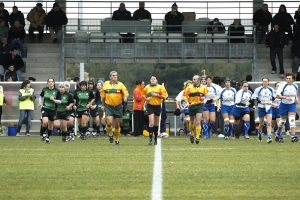 Galeria: Montpellier RC vs INEF Barcelona, Final Copa Europa Rugby Femení (Anada) [22-12-2007]