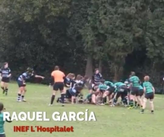 Vota #ensayogarcia l'acció de la Raquel Garcia com la millor de la J9 de la Lliga Iberdrola