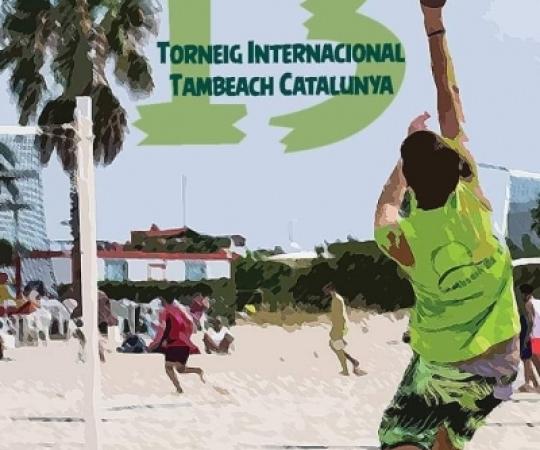 13è Torneig Internacional Tambeach de Catalunya el 7 i 8 de setembre