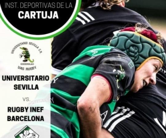 Prèvia: UAS Universitario de Sevilla CR vs INEF-L'Hospitalet, J1 Lliga Iberdrola