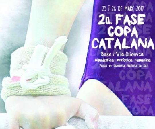 2ª fase de la Copa Catalana de GAF en categoria de Base i Via Olímpica a Salt