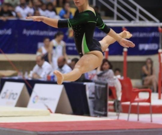 Vídeos: Elisabet Marina al Campionat d'Espanya de GAF Valladolid 2017