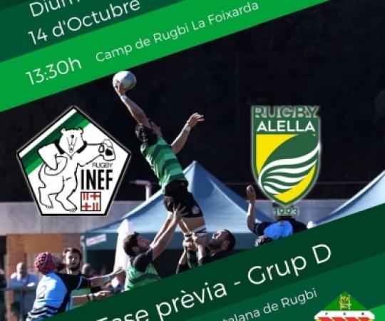 INEF Barcelona s'estrena a casa davant el Rugby Alella