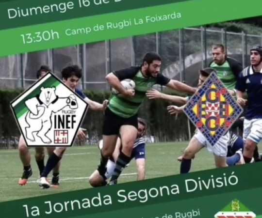 Prèvia: INEF Barcelona vs GEiEG, J1 Lliga Catalana Segona Divisió