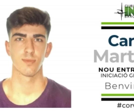 Carles Martínez s'incorpora a la plantilla d'entrenadors del Club