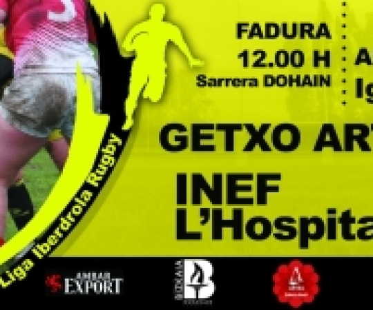 Prèvia: Getxo Artea vs INEF-L'Hospitalet, 6ª Jornada Lliga Iberdrola 2017-2018