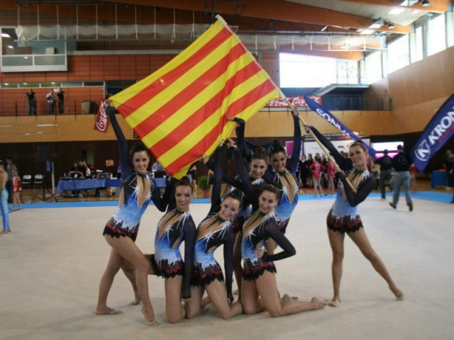 Galeria: Equip Gimnàstica Estètica 2011-2012 Club Esportiu INEF Barcelona