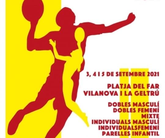 14è Torneig Internacional Tambeach de Catalunya el 3, 4 i 5 de setembre