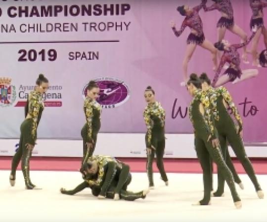 VIDEO: Actuació d'INEF United al XX Campionat del Món de Gimnàstica Estètica de Grup